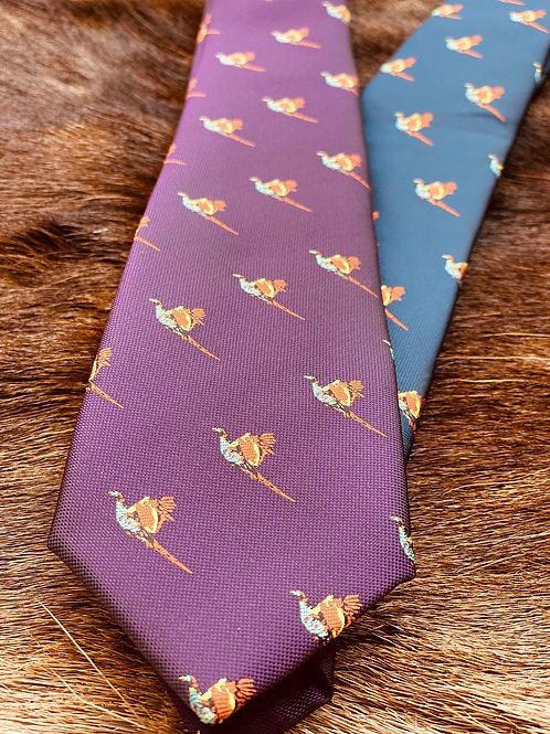 Jagd-Liebe Krawatte Fasan