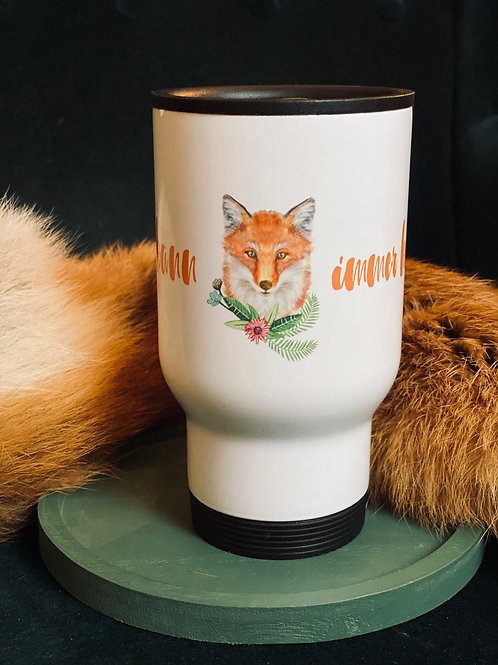 Jagd-Liebe Coffee-to-go-Becher Fuchs