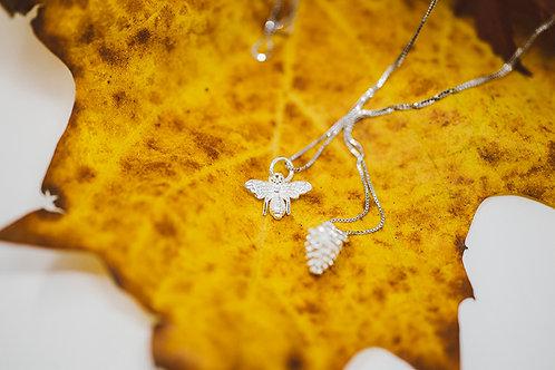 Jagd-Liebe Silberkette