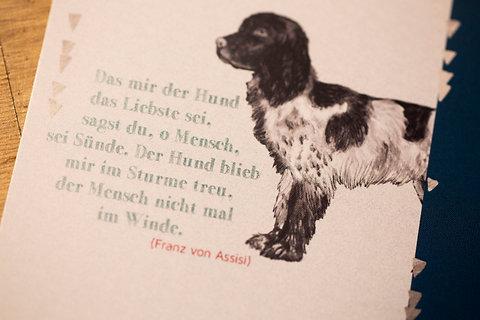 Der Hund Blieb Mir Im Sturme Treu Der Mensch Nicht Mal Im