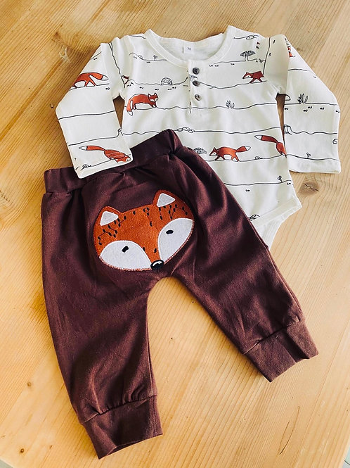 Baby-Strampler Fuchs & Dachs