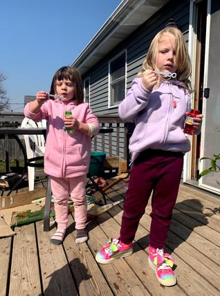 Springtime bubbles