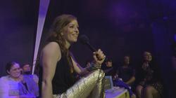 Whitney is a Sassy Lassy Trivia host