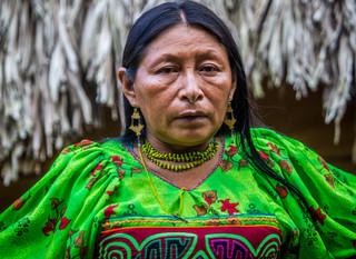 Os índios Kuna de San Blás escondidos no interior da Colômbia