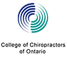 Proud member in good standing with the College of Chiropractors of Ontario