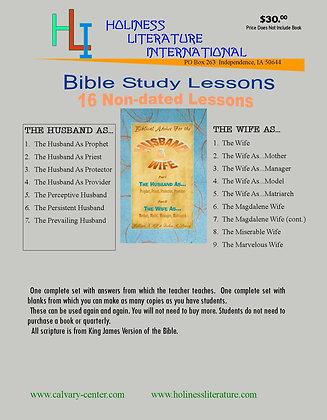 Biblical Advice for Husband & Wife (Printed)