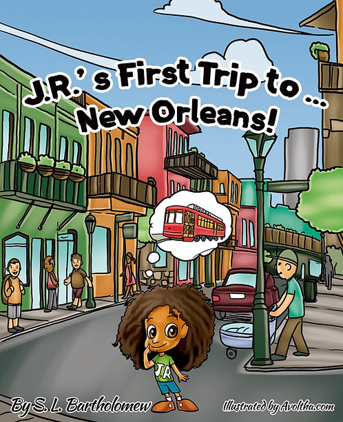J.R'S First Trip To... New Orleans by Stylist B