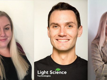 Light Science Technologies grows with three new appointments