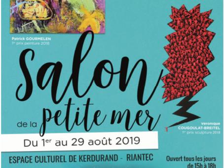 "Salon ""de la petite mer"" à l'espace culturel, château de Kerdurand à Riantec"