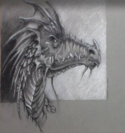 dessin drago-Gaelle Le Gal