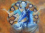 ETERNITE-Huile-100 x73 cm-Gaëlle Le Gal