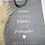 Thumbnail: Stofftasche Puderzucker personalisiert
