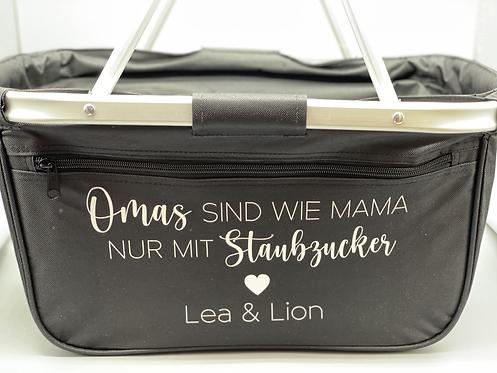 Einkaufskorb Omas sind wie Mamas personalisiert