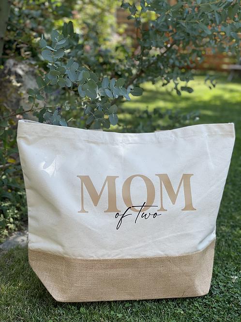 Jutetasche XXL Mom 2.0