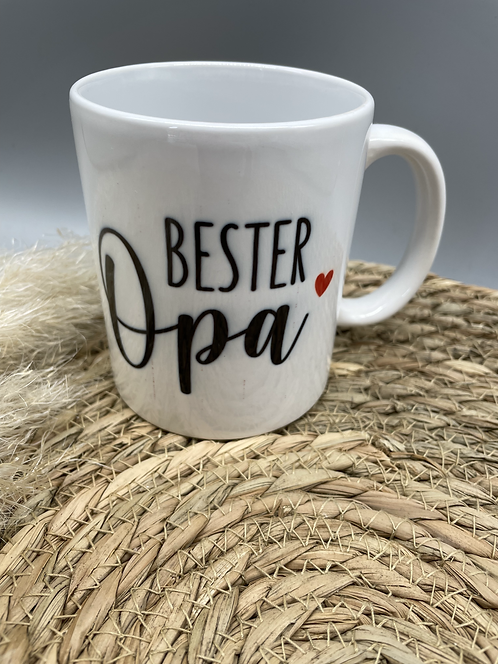 Tasse Bester Opa/beste Oma