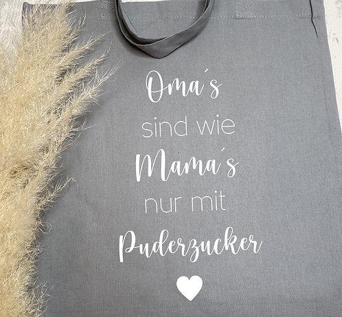 Stofftasche Puderzucker