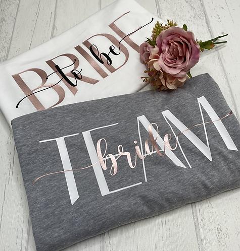 Bride to be Tanktop