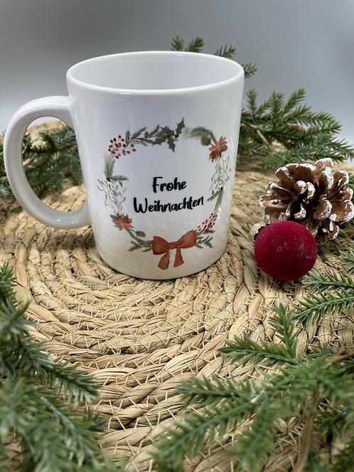 Tasse Frohe Weihnachten