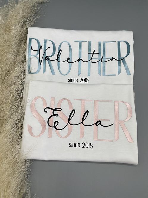 BROTHER/SISTER since 2er Set