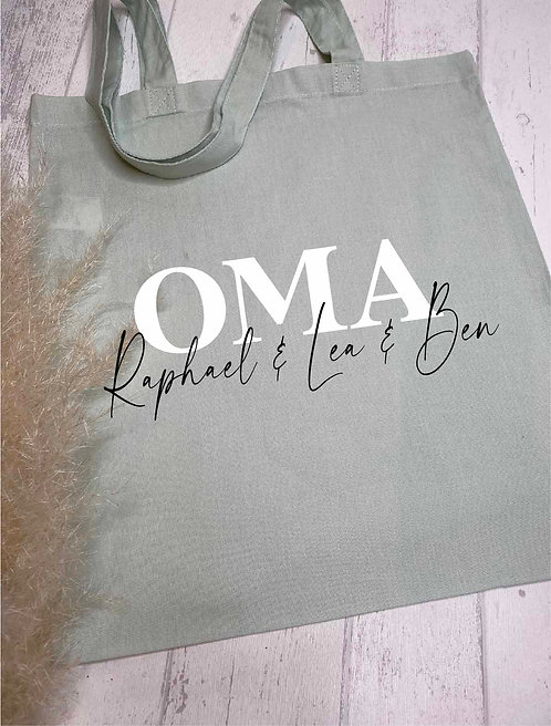 Stofftasche OMA