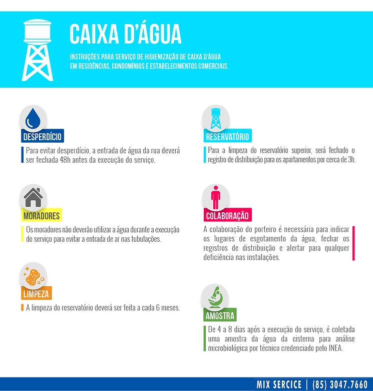 Lavagem de Caixa Dagua, lavagem de reservatorios