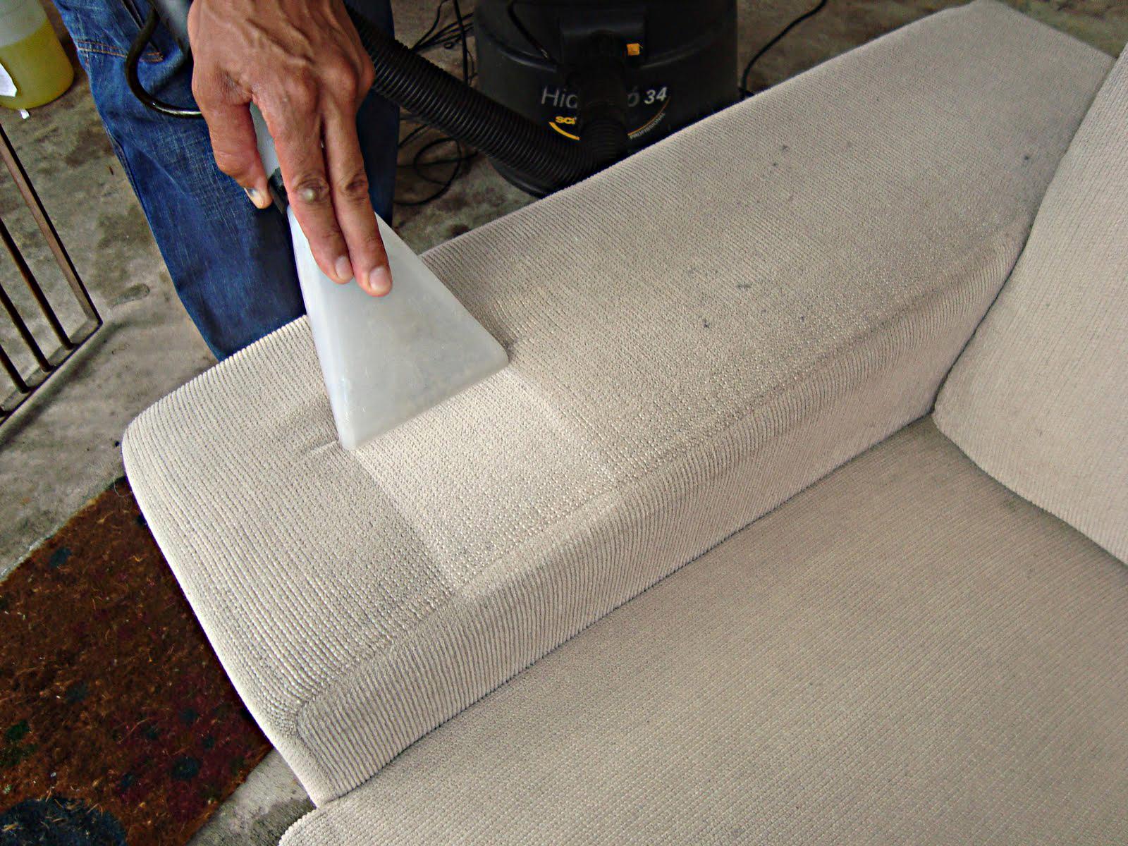 lavagem de sofa