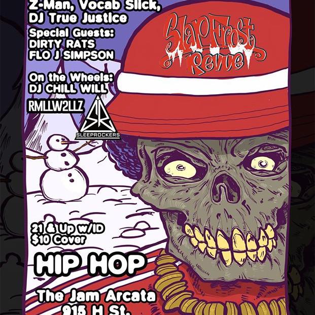 Slap Frost Revue - Sunday April 4th
