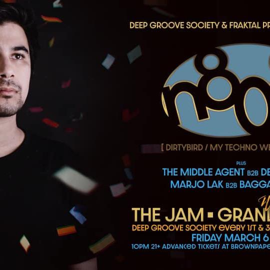 N808 (Dirtybird) - The Jam Grand Opening w/ DGS family