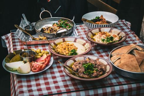 Lab trip to Haifa October 2021: Food