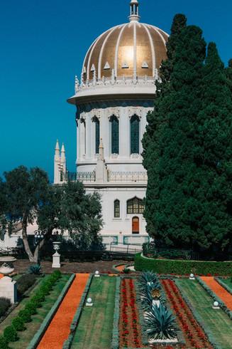 Lab trip to Haifa October 2021: Baha'ai Gardens