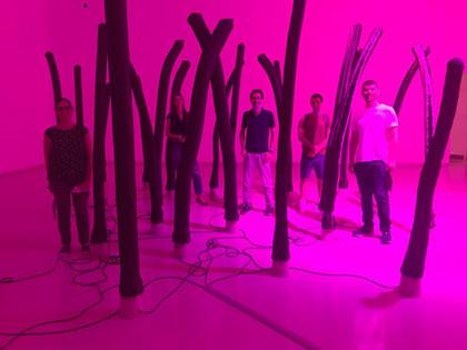 TAU art gallery tour