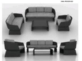 GOLD RATTAN Outdoor Living Sofa(1) (drag