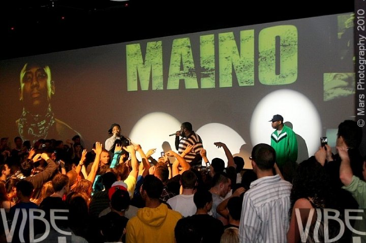 Recording Artist Maino Club Vibe