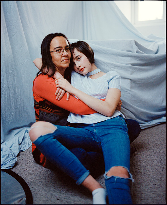 Mother and Daughter (from the series 'Regrowth'). Oxfordshire