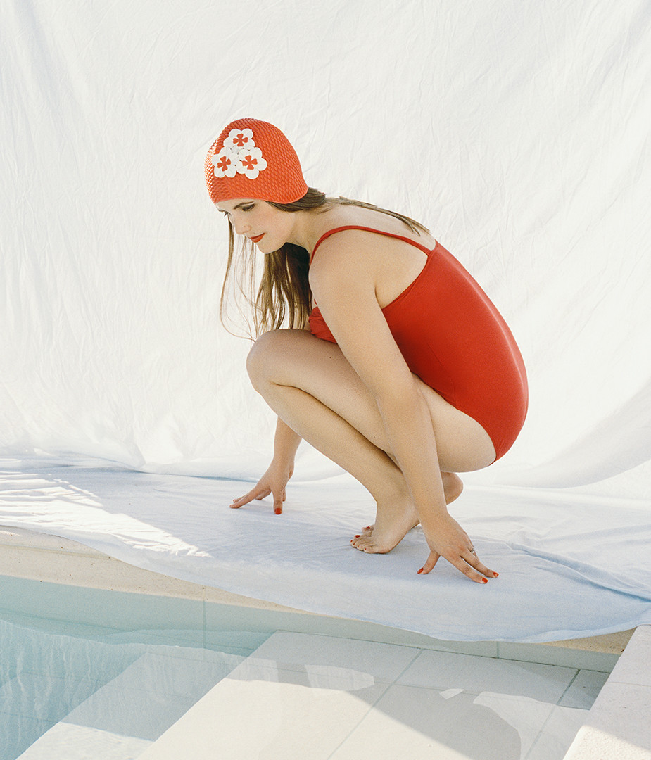 Julie Bolitho. From the series 'Women in Bathing Suits'.