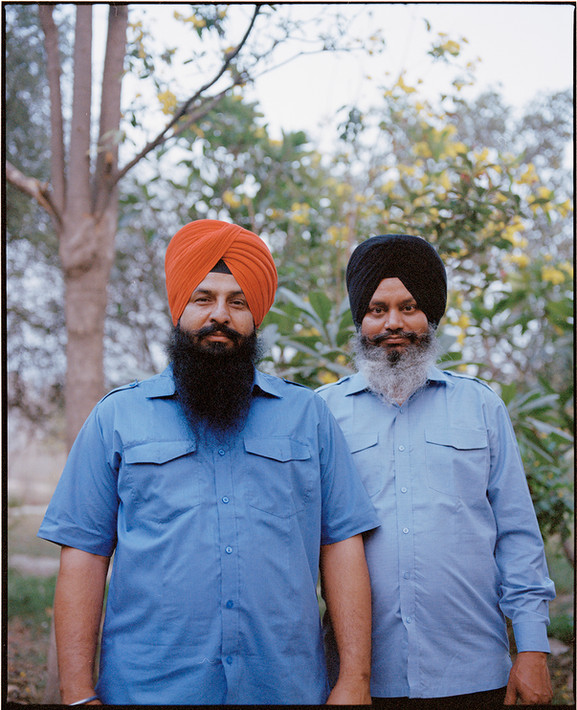 Jaswant Singh and his Friend. India, 2021.