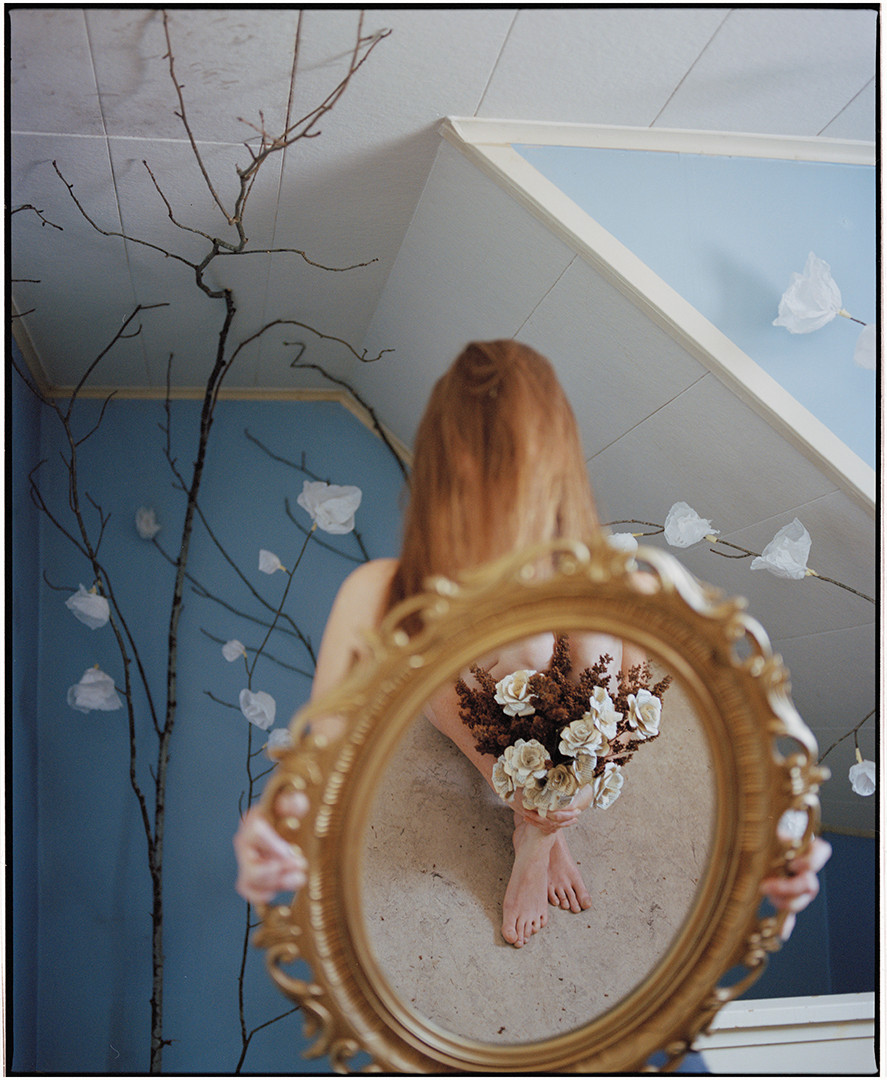 Flowers in the Mirror
