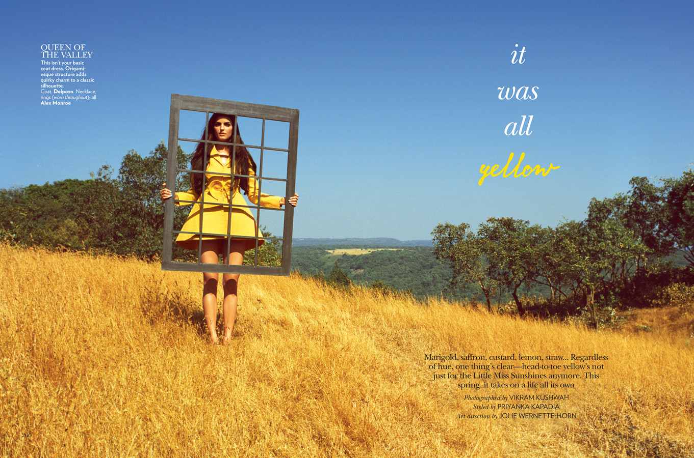 Vogue India - It Was All Yellow