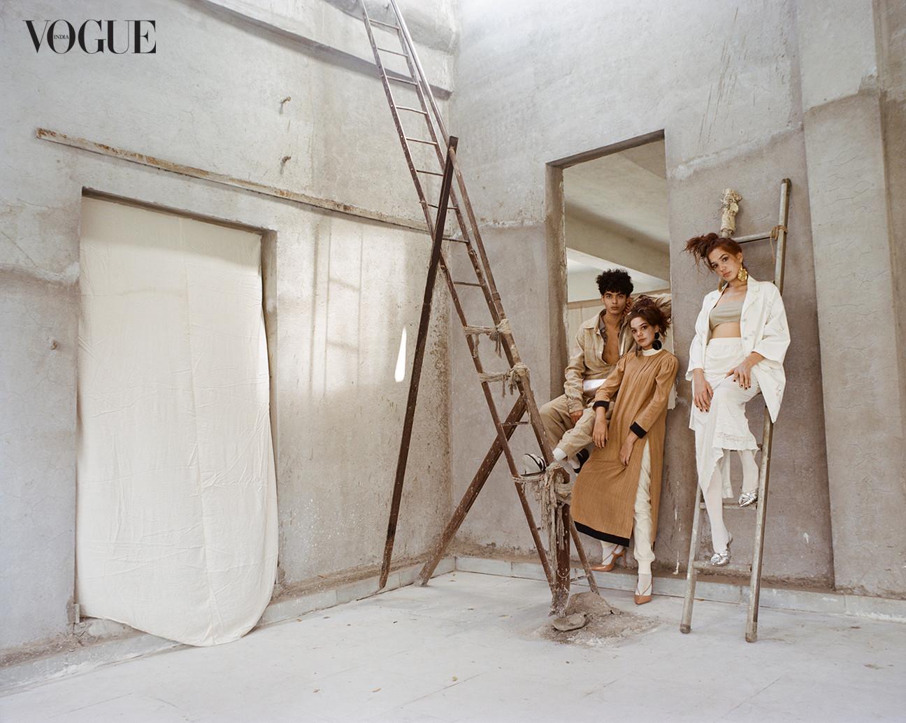 Vogue India - 'Khadi Report' shoot.