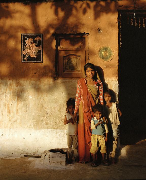 Rama and her Children. India, 2021.