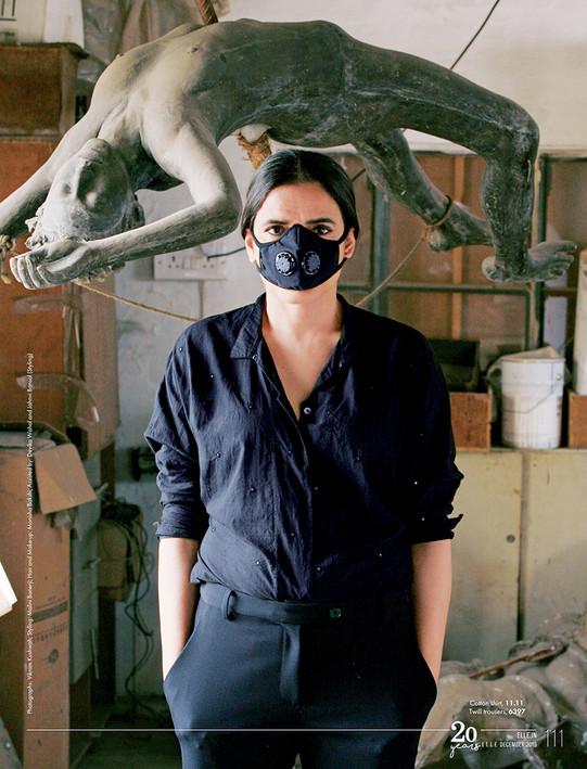 Bharti Kher, artist, activist. New Delhi. For Elle India.