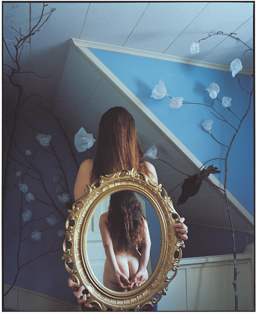 Woman in the Mirror - 1