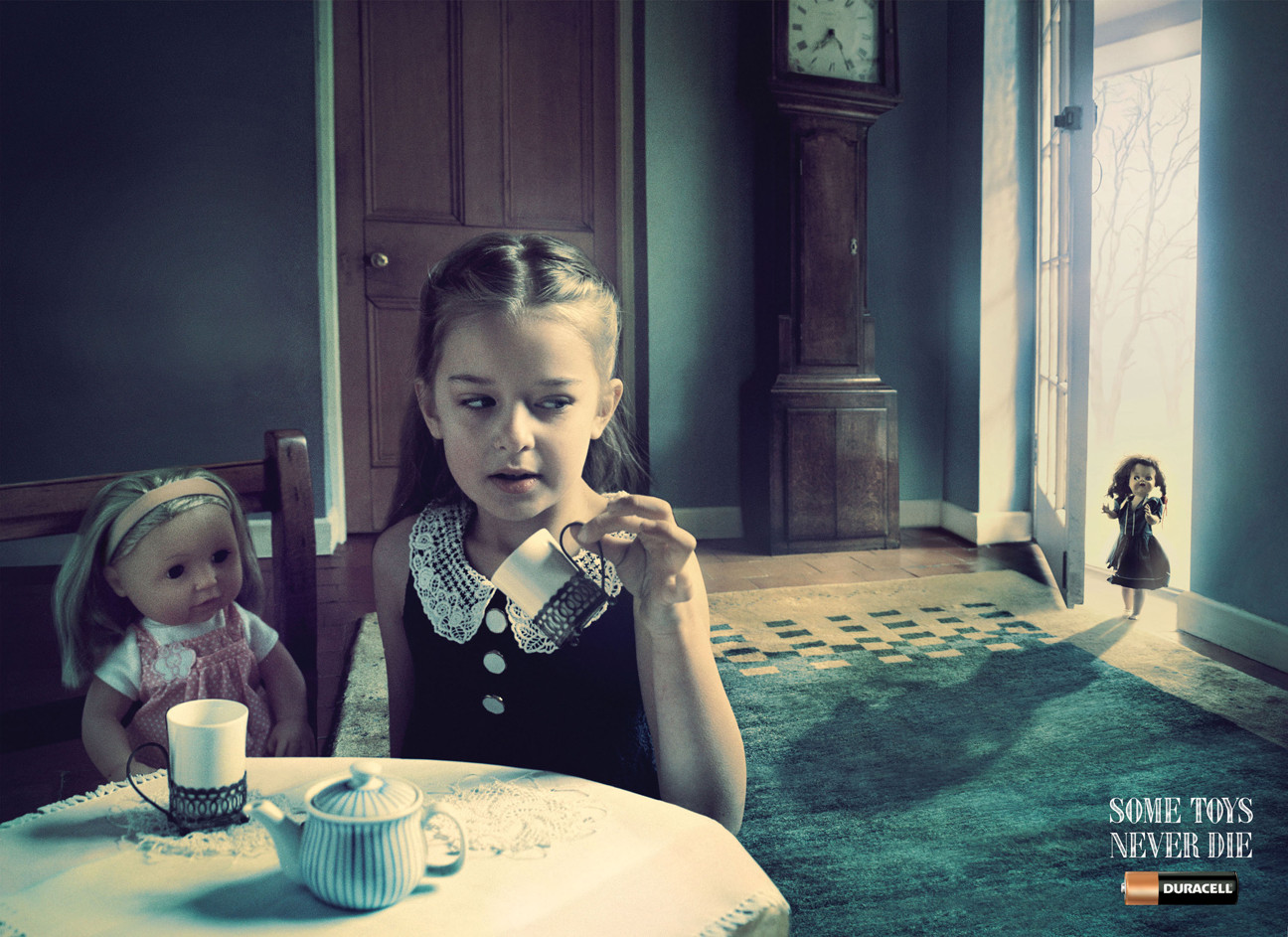 Duracell campaign. Winner of bronze at the Cannes Young Lions Awards for Best Photography.