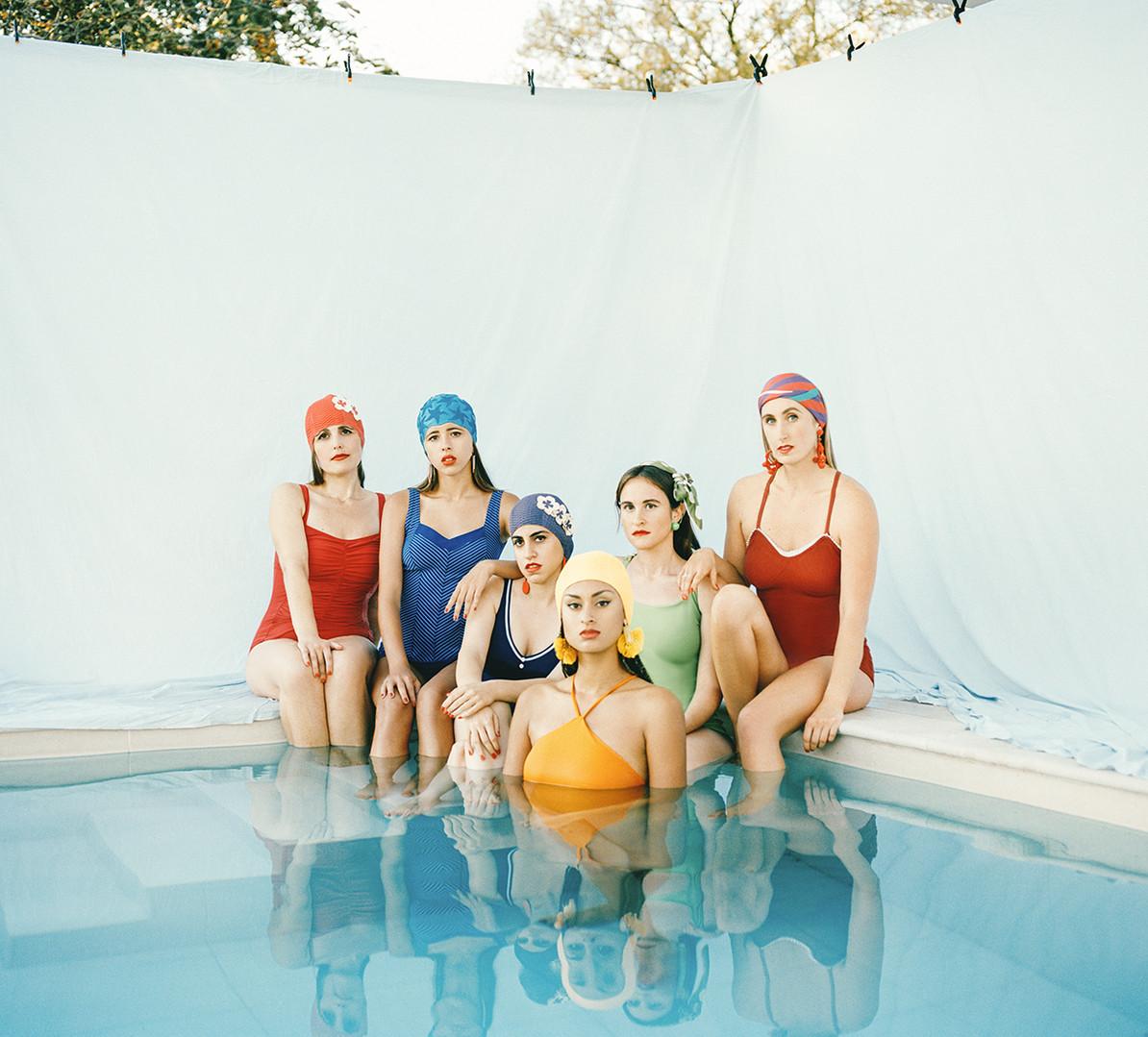 Women in Bathing Suits.