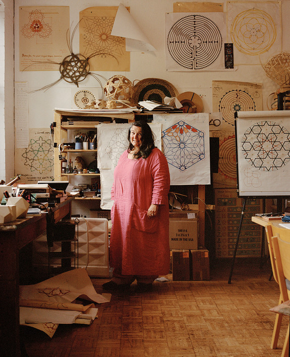 Sara and Sacred Geometry. Sussex, 2021.