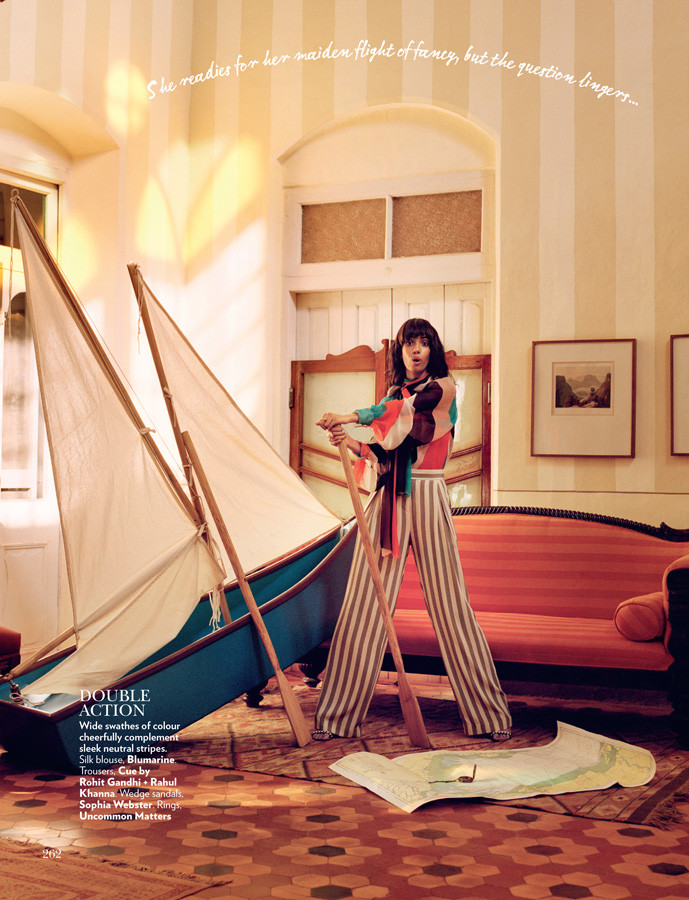 Vogue India - Hook, Line and Sinker