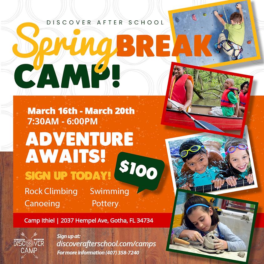 SPRING BREAK CAMP 2020