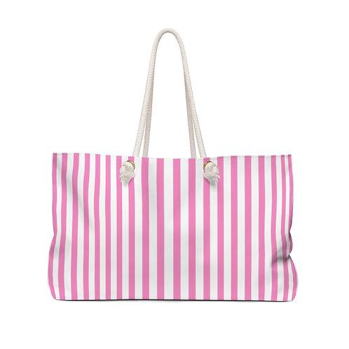 Her Pink Weekender Bag