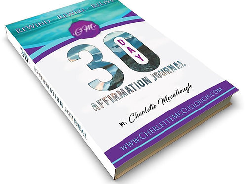 Autographed 30 Day Affirmations Journal