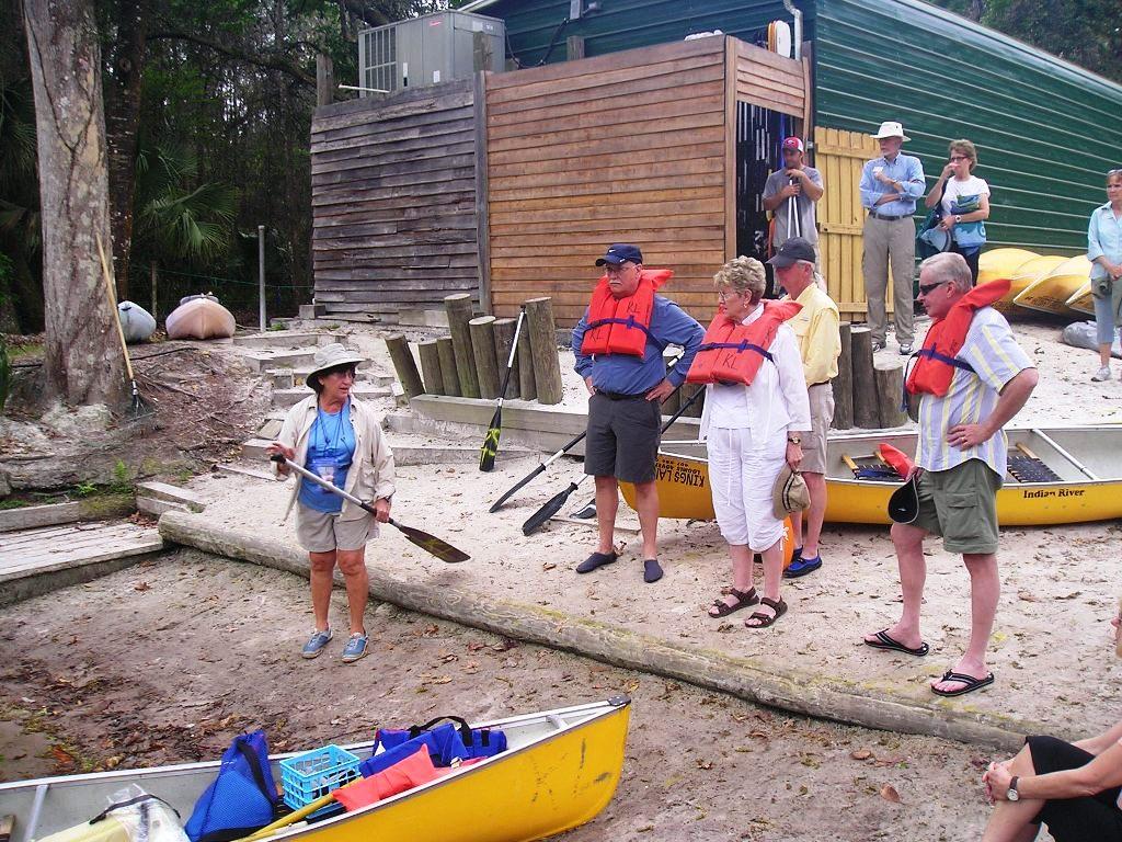 2013 - Canoeing Rock Springs.
